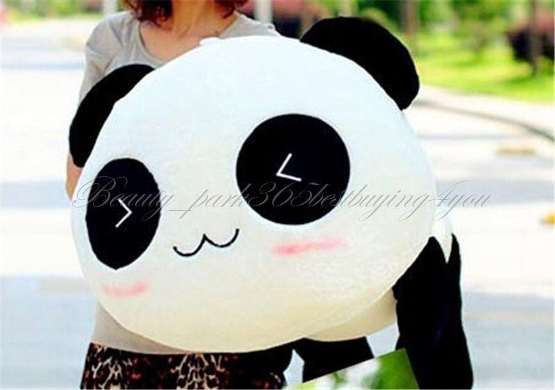 "HOT Cute 45CM 17"" Soft Stuffed Plush Doll Toy Animal Panda Pillow Bolster Birthday Gift HG-0034_45 On Sale(China (Mainland))"