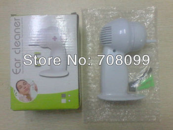 FedEx Free Shipping  Wholesales  200pc/lot  Electronic Ear Cleaner Ear Wax Cleaner Cordless Painless Ear Vacuum Cleaner