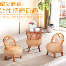 Rattan Sofas Tea Table Set 3 pieces 2 Cane coffee Chair 1 Table Home Furniture Set Living Room Balcony Garden Sectional Sofa(China (Mainland))