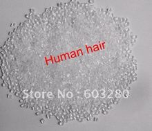 Hot Selling 100gram/bag Transparent Color 100% Italian Keratin Glue Bead/Granule/Grain For Hair Extension Tool Fast Shipping(China (Mainland))