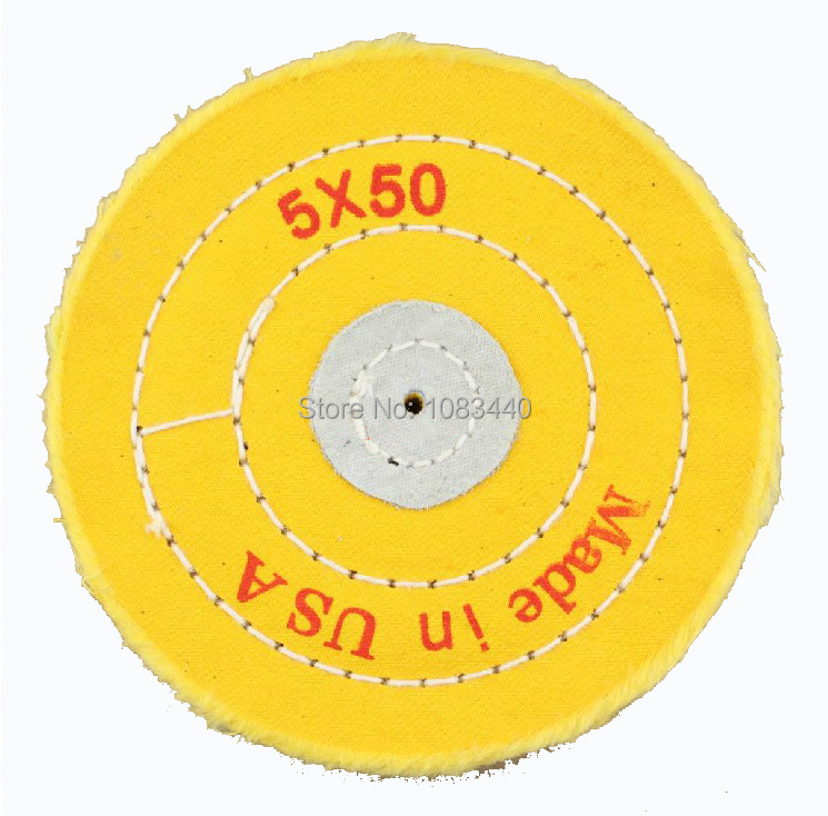 5'' 125mm Sawing Cloth Polishing Wheel for Various Glazing Machine to Buffing Metals & Grinding Crystal 50 Floors Covers(China (Mainland))