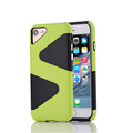 Fashion Colorful PC Silicone TPU Phone Case for iPhone 7 4 7 inch Back Cover Cases
