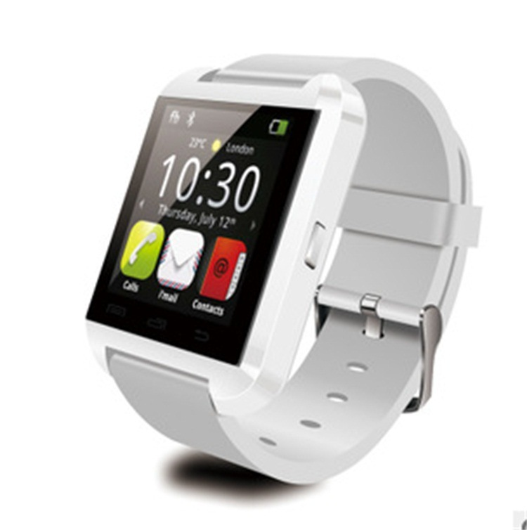 New Smart Bluetooth Watch U8 Wristwatch Sync Android OS Handsfree Smartwatch For iPhone Samsung Galaxy S5 Note HTC LG(China (Mainland))