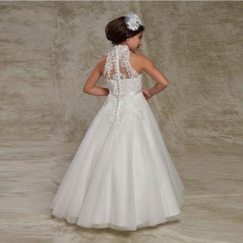 Hot-Sale-White-Puffy-Flower-Girl-Dresses-First-Communion-Dresses-for-Girls-vestido-longo-Beaded-Applique (1)