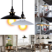 Hot Sale Led Fixture Ceiling Lamp Retro Industrial Iron Vintage Pendant Light Deco Lamp Free Shipping V1NF(China (Mainland))