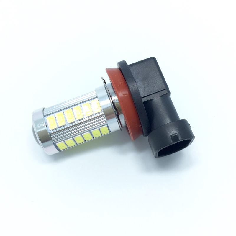33smd led fog lights bulbs super bright white auto lamps parking light. Black Bedroom Furniture Sets. Home Design Ideas