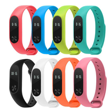 Buy Xiaomi Mi Band 2 Bracelet Strap Miband 2 Colorful Strap Wristband Replacement Smart Band Accessories Mi Band 2 Silicone for $1.25 in AliExpress store
