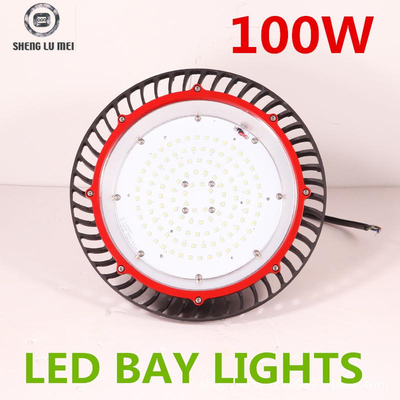 led mining lamp led lamp manufacturers new ufo circular piece 100W led lights power supply box tie white warm white(China (Mainland))