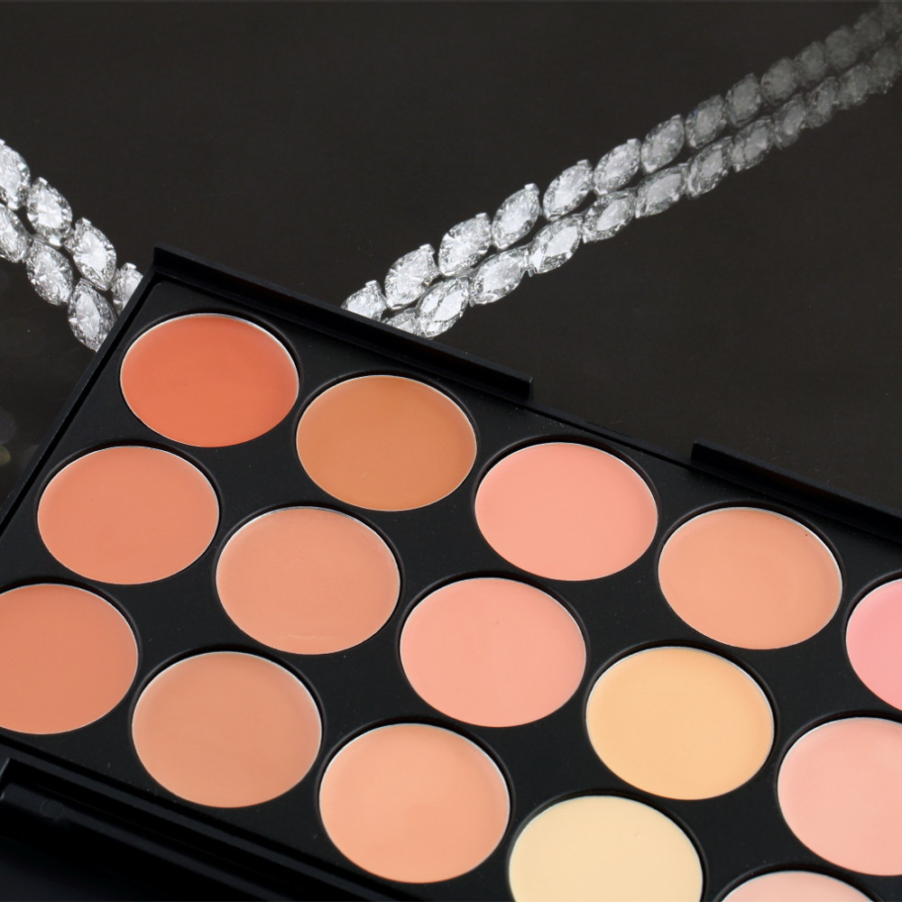 Alta Qualidade Novo 15 cores de Sombra Camouflage Concealer Palette Venda Quente