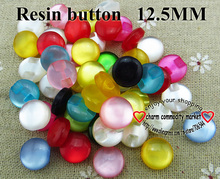 Buy 1000PCS 12.5MM colors Dyed RESIN transparent buttons coat boots sewing clothes accessories R-235A for $18.00 in AliExpress store