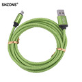 1m 2m 3m 25cm Nylon Braided USB Charging Cable Sync Data Cord for iPhone 5 5s