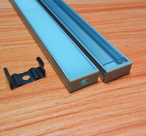 Free Shipping 2000mmX18mmX8.5mm  Under Counter Cabinet Light Kit Aluminium Profile For LED Strip Round Opal Profile<br><br>Aliexpress