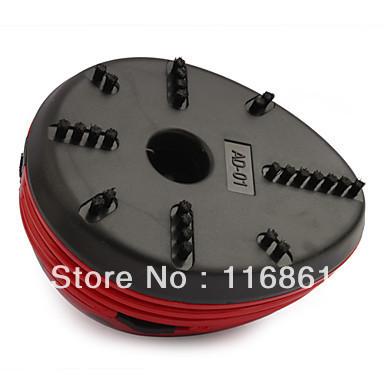 18PCS EMS Free shipping Mini Desk Vacuum Cleaner Table Vacuum Computer Vacuum Table Cleaner - (Red)