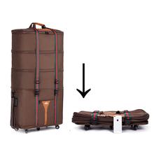 Oxford super große Kontrollkästchen Gepäck Reisetasche braun und Schwarz Koffer, 2,4 kg, CA019(China (Mainland))