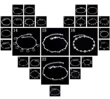 2016 New Fashion Silver Plated Jewelry Bracelets & Bangles Solid 5 Love Heart Charm Bracelets For Women pulseras SL-006(China (Mainland))