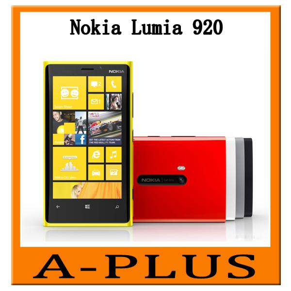 Nokia Lumia 920 Dual Core 1G 32GB 8MP Camera 4.5inch Touch Screen Microsoft Windows 8 Smart Phone(China (Mainland))