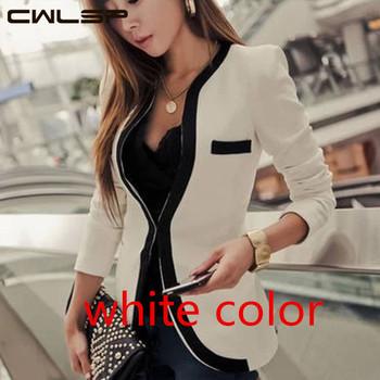 Cwlsp 2014 новинка осень свободного покроя пиджак тонкий волна v-образным вырезом одной кнопки верхняя одежда костюм женское пальто пр SH121