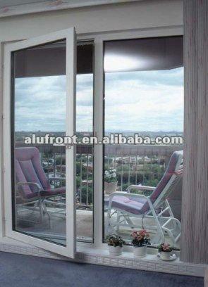 aluminium hinges door