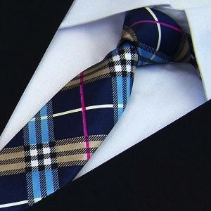 Print Slim Tie Men's necktie Polyester pattern fashion neck ties many designs choose 5CM WIDTH - No.01 Store store