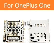 SIM card slot holder OnePlus One A0001 A1000 A1001 reader adapter 1+ connector socket replacement parts - X'MAS GIFT STORE store