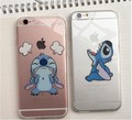 Hot sale cute cartoon Stitch Mike Pooh Minnie Mickey Sulley model TPU Transparent soft Cover for