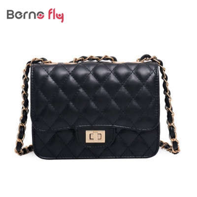 Fashion brand designer Patent Leather women Bags solid ladies Handbags Quilted Chains Wine Purse Wallet shoulder Messenger Bags(China (Mainland))