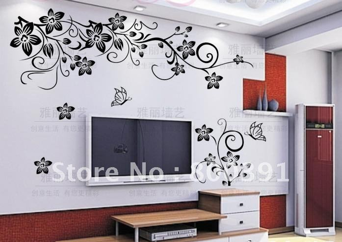Acquista all 39 ingrosso online muro stencil albero da for Pochoir mural design