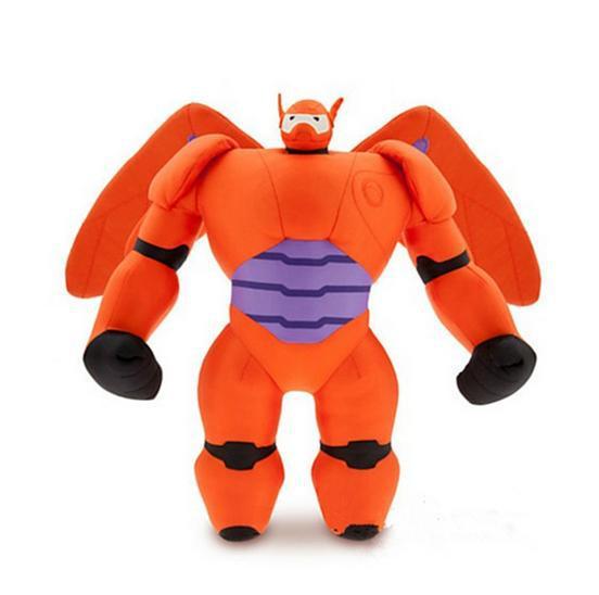 Fashion 25cm BIG Hero 6 Baymax plush dolls toys Robot Mech best gifts baby kids - Babycareprime store