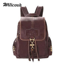 2016 New arrival pu leather women backpack casual women's shoulder bags small travel bags mochila brand women school bags DB5045(China (Mainland))