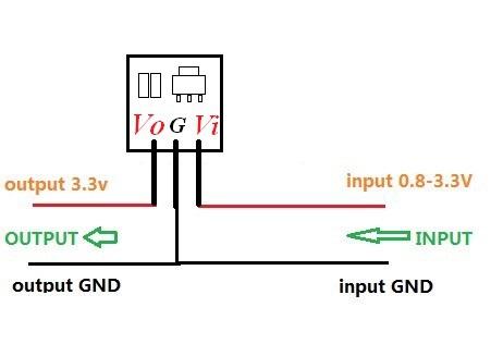 8pcs mini DC DC 0 8 3 3V to 3 3V Step UP Boost Voltage Converter