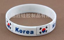 200pcs/lot Rio DE janeiro Olympic commemorative bracelet with national flag logo sport energy Silicon Bracelet free shipping(China (Mainland))
