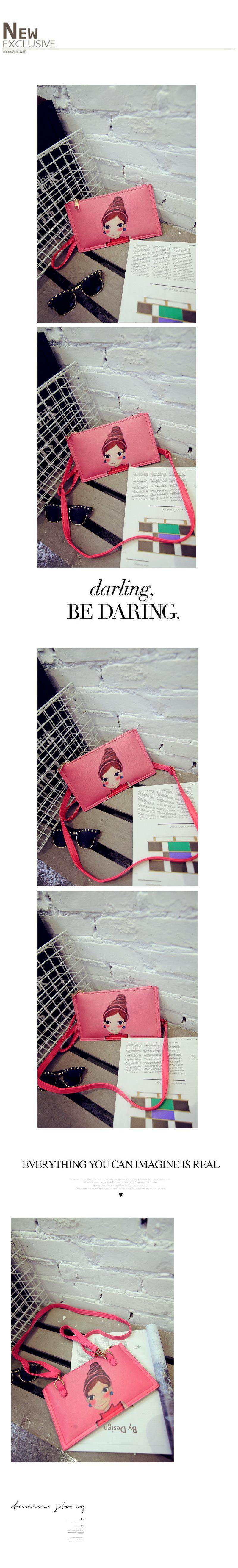 2015 New Korea Women Bag Envelope Clutch Bag Womon Messenger Bags