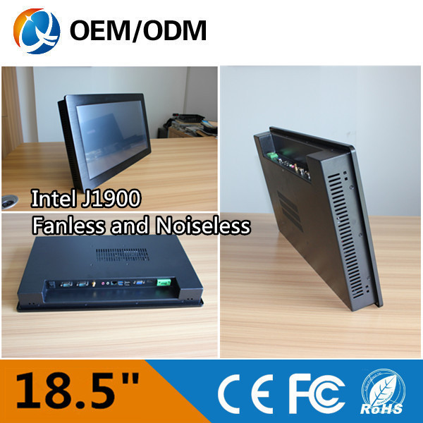 """Cheap price/new parts/OEM 18.5 """" industrial tablet pc embedded fanless touch screen industry pc Inter j1900 CPU(China (Mainland))"""