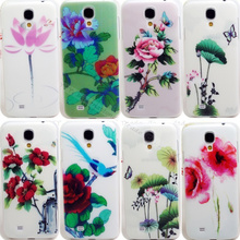 S4 22 Styles Lotus Cases Cover For Samsung Galaxy S4 i9500 Case For GalaxyS4 SIV Phone Shell 2016 Top Fashion Hot Sale! Fine !!