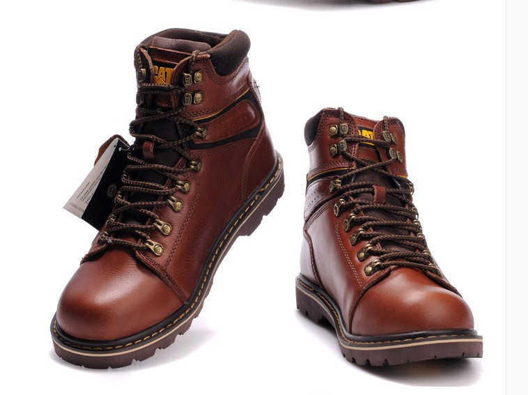Mens Black Leather Snow Boots - All About Boots
