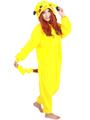 Unisex Adult Sleep Tops Party Cosplay Pokemon Animal pajamas Sleep Suit Adult Cartoon Nightgown robe Pikachu