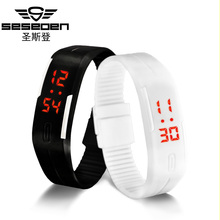 Touch Screen LED Bracelet Digital Watches For Men&Ladies&Child Clock Womens or Wrist Watch Sports Wristwatch Saat Free shipping