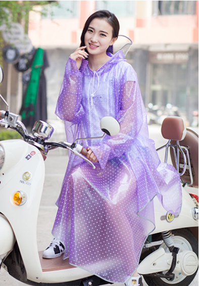 Plus Size font b burberry b font women Bike or E bike Poncho with Sleeves and