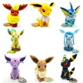 Pokemon Plush Toys 7 Sitting Umbreon Eevee Espeon Jolteon Vaporeon Flareon Glaceon Leafeon Plush Doll Kids