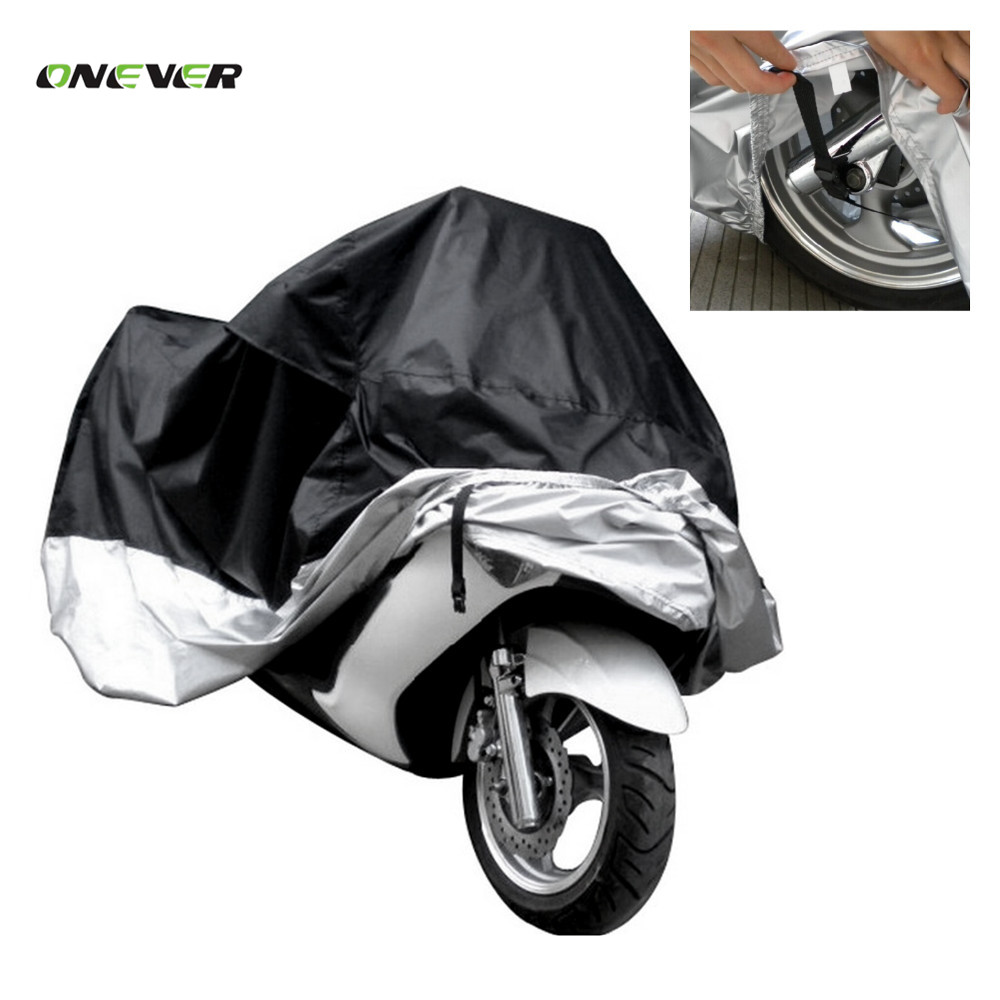 2017 New Motorcycle Cover Waterproof Outdoor Uv Protector Bike Rain Dustproof,Covers for Motorcycle, Motor Cover Scooter L XXL