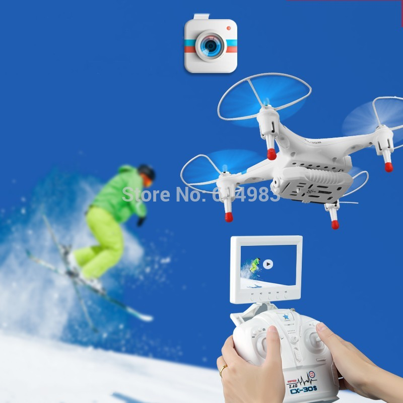 Cheerson CX-30W CX-30C 4CH 2.4GHz 6-Axis Gyro FPV RC Quadcopter Helicopter Camera iPhone Android Wifi Real Time Video Drones - Shenzhen Ontop Technology Ltd. Company store