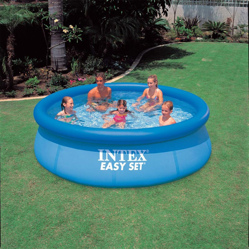 INTEX 28120 56920 swimming pool 305*76cm,summer play swimming inflatable pool above ground pool(China (Mainland))