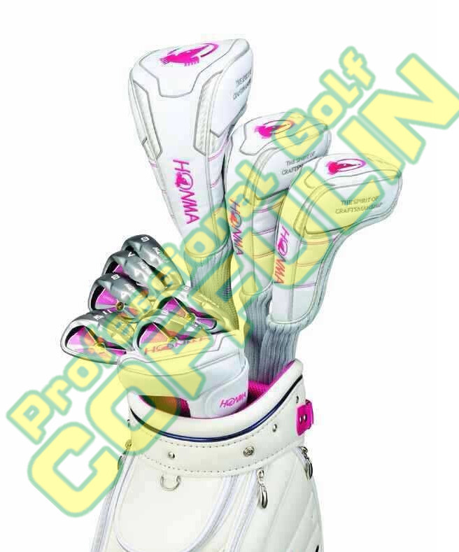 Lady Honma golf clubs U100 golf complete set(driver+woods+irons+putter+bag) With shafts headcovers Free shipping(China (Mainland))