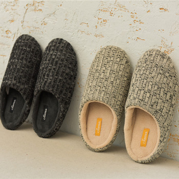 2015 New Winter Home Slippers Women Indoor Cashmere Cotton Pantoufle Femme Solid Ciabatte Zapatillas Casa Chaussons