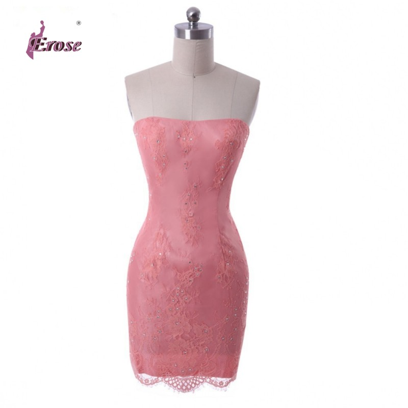 R8265 Sweetheart Sleeveless vestido de festa Short Party Gown Homecoming Prom Ball Formal Evening Dress 2016 - 100% Satisfaction-Suzhou Erose Wedding store