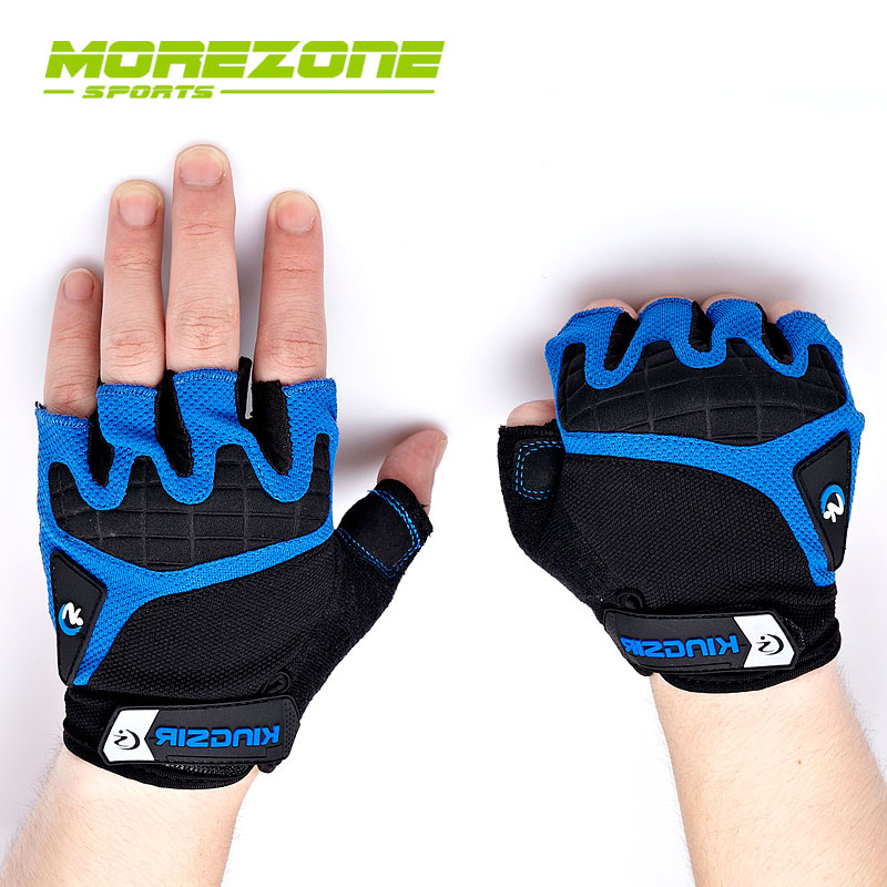 MoreZone Unisex Half Finger Cycling Gloves Mtb Road Bike Men Gloves Bicycle Ciclismo Racing Sports Breathable Non-slip Gloves(China (Mainland))