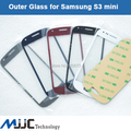 For Samsung Galaxy S3 Glass SIII Mini i8190 Front Outer Replacement Touch Screen Digitizer Glass Lens