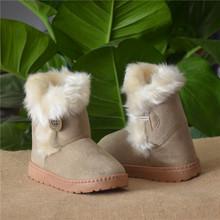 2015 nuevo niño nieve botas niños calientes botas de nieve de peluche niños niñas zapatos de invierno botas casual shoes tamaño 21-35(China (Mainland))