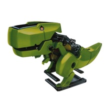 Freeshipping 4 In 1 Solar Robot Educational Model Building Kits Dinosaur/Drill/Robot/Insect DIY Toys For Kids(China (Mainland))