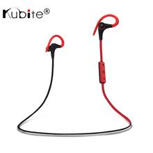 Kubite Bluetooth Headphone Bluetooth V4.1 Wireless Stereo Sports Running Headset Earphone Sweatproof Handsfree With Mic(China (Mainland))